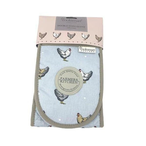 Double Oven Glove - Farmers Kitchen-Homeware-City Look-Thursford Enterprises Ltd.