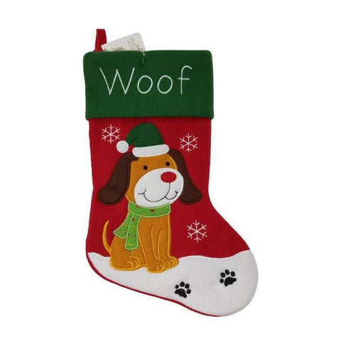 Christmas Stocking Dog-Christmas Decoration-Premier-Thursford Enterprises Ltd.