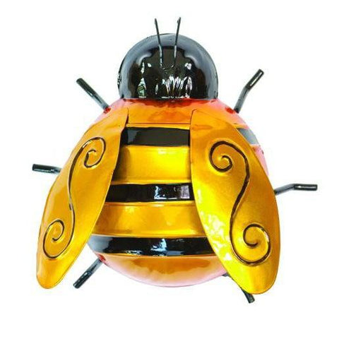 Wall Art Bumble Bee-Garden-Fountasia-Small-Thursford Enterprises Ltd.