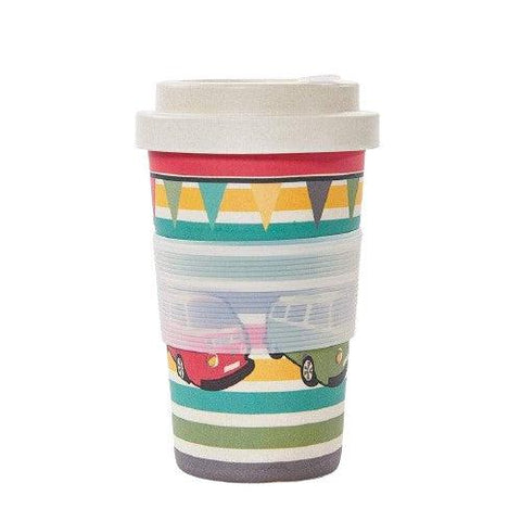 Bamboo Travel Cup Camper Vans-Homeware-Eco-Chic-Thursford Enterprises Ltd.