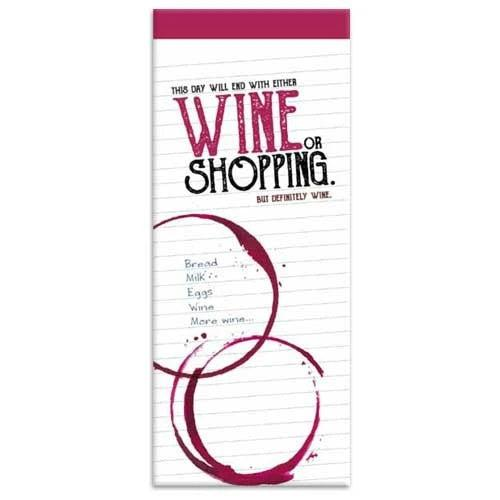 Shopping List - Wine-Stationery-The Gifted Stationery-Thursford Enterprises Ltd.