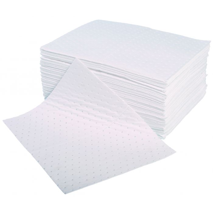 Oil And Fuel Absorbent Spill Pads