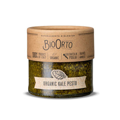 BioOrto Organic Pesto Kale with Garlic (212ml / 7.2oz)