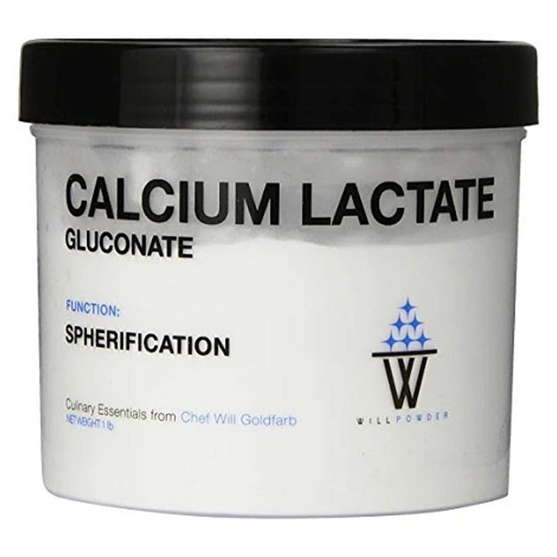 Calcium Lactate Gluconate - WillPowder from Chef Will Goldfarb, 1lb