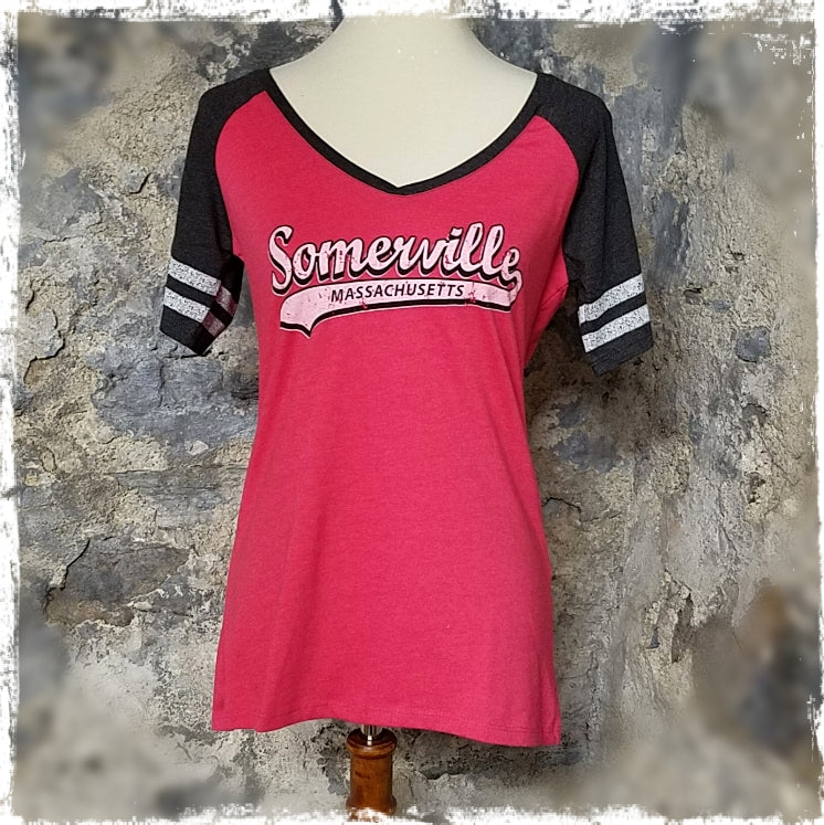 Somerville Ladies' V-Neck Tee