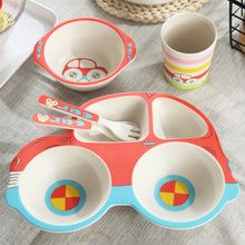 Load image into Gallery viewer, Dishes set for children - 5 pcs