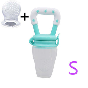 Baby Food Feeder Pacifier Safe Silicone Pacifier for Baby S M L