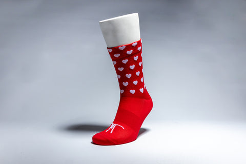 Jodie's Favourite Heart Socks