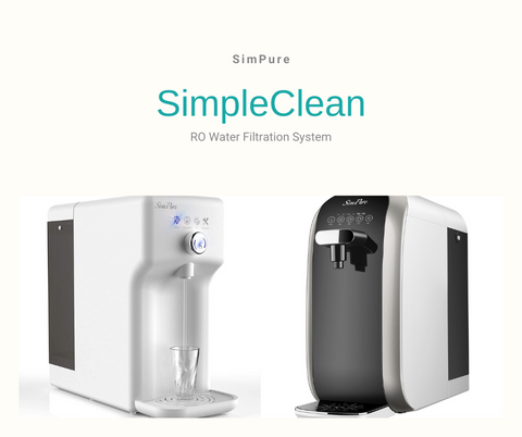 simpure simple clean reverse osmosis ro water filtration system