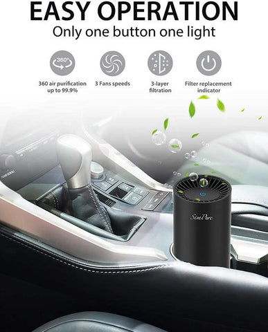 how does portable air purifier work