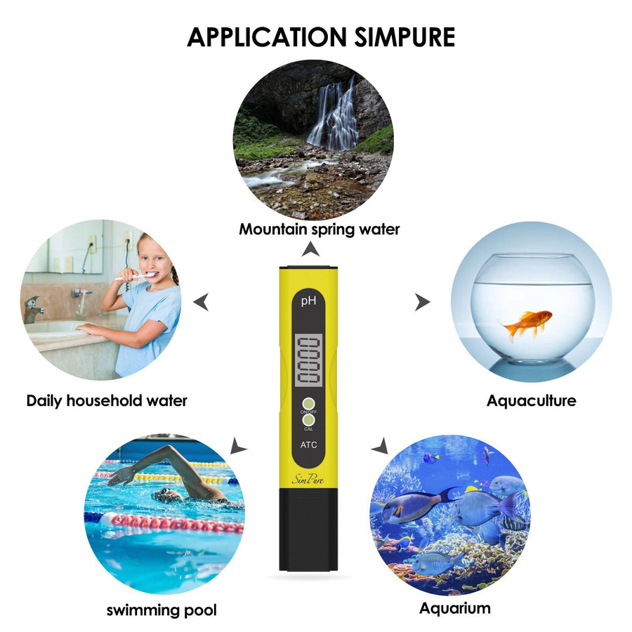 Digital PH Meter | Water Quality Tester | pH 0.0-14.0