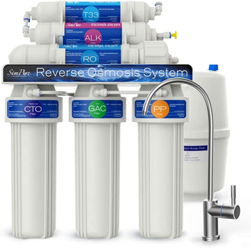 HideAway² Ultimate T2P 6 stage Under Sink RO System 100GPD | Reverse Osmosis Filtration Systems
