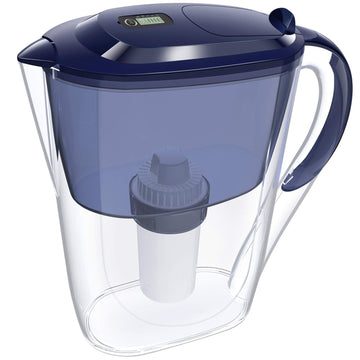 DP06 2.6L Water Filter Pitcher (10-Cup) | 4 Stage Filtration | BPA Free