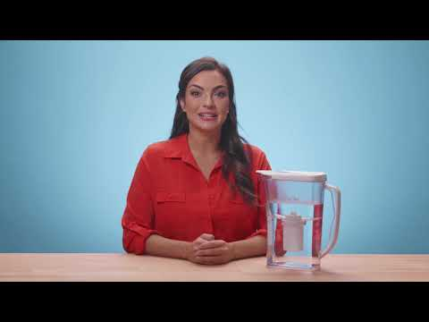 DP03R Water Filter Pitcher (12-Cup) | 4-Stage Filtration | BPA Free