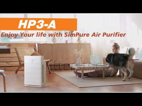 HP3-A Air Purifier | True HEPA Filtration | 24db Ultra Quiet | 3-Stage Filtration