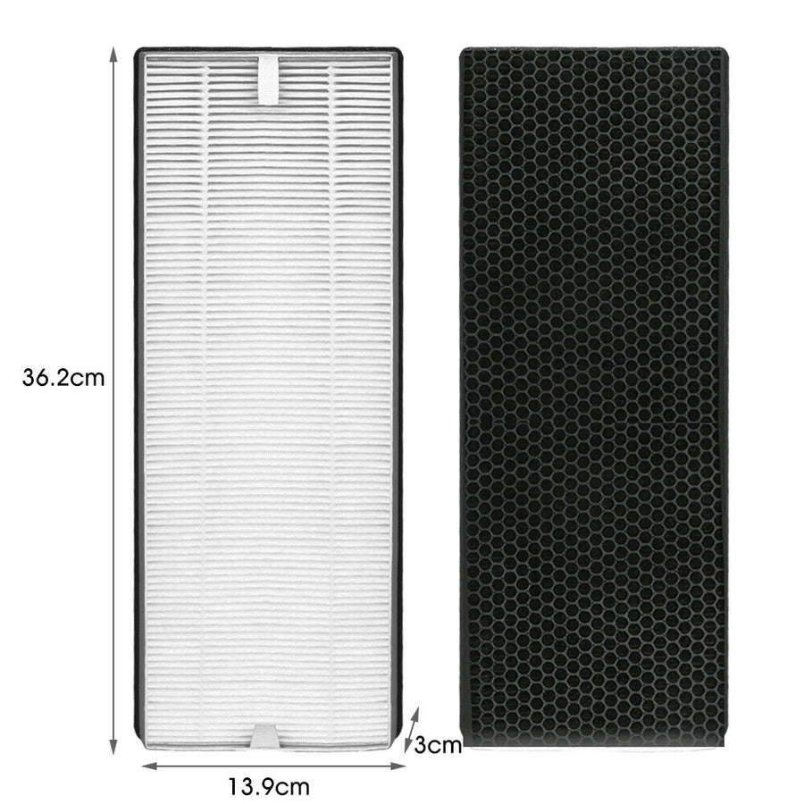 MS18 Air Purifier Filter | True HEPA Replacement | 4-Stage Filtration