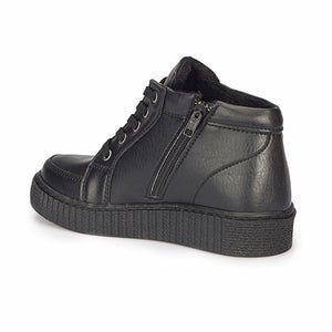Boy's Black Sneakers