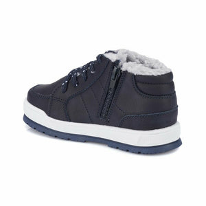 Boy's Navy Blue Worker Boots