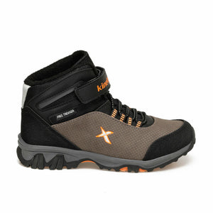 Boy's Brown Orange Outdoor Shoes