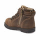 Boys' Brown Leather Worker Boots