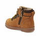 Boy's Yellow Leather Worker Boots