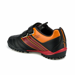 Boy's Black Red Football Shoes
