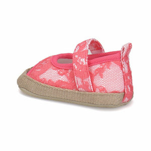 Girl's Fuchsia Patterned Sandals