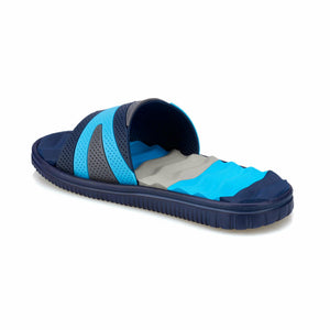 Navy Blue Boys' Slippers