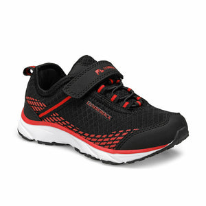 Boy's Black Red Sport Shoes