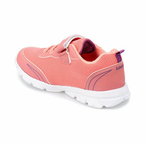 Girl's Coral Purple Running Shoes