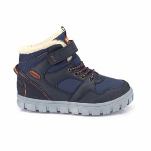 Boy's Navy Blue Boots