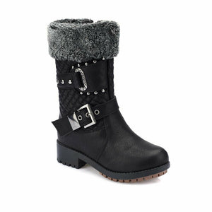 Black Girl's Boots