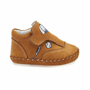 Boys' Yellow Leather Shoes