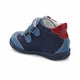 Boy's Navy Blue Leather Boots
