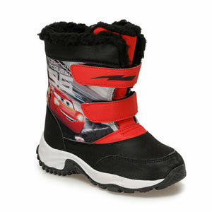 Boy's Red Black Boots