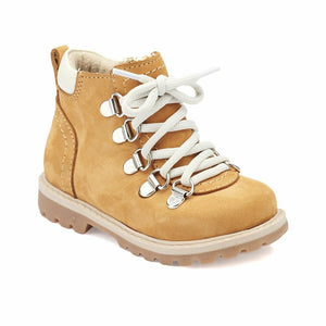 Boy's Lace-up Mustard Boots