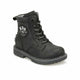 Boy's Lace-up Black Boots