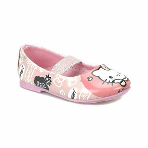 Girl's Patterned Pink Babette