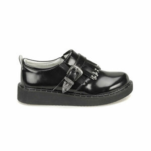 Girl's Black Casual Shoes