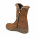 Girl's Brown Basic Boots