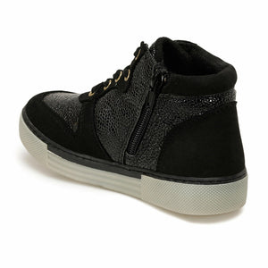 Black Girl's Sneakers