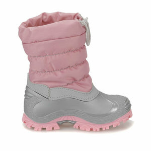 Girl's Light Pink Snow Boots