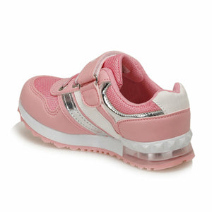 Girl's Lace-up Pink Shoes