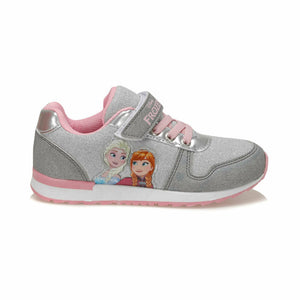 Girl's Grey Sport Shoes