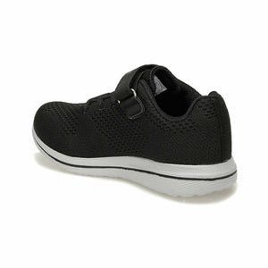 Boy's Black Walking Shoes