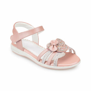 Girl's Powder Rose Sandals
