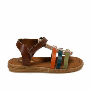 Girl's Ginger Leather Sandals
