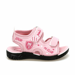 Girl's Pink White Sneakers
