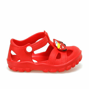 Boy's Red Slippers