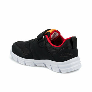 Boy's Black Red Running Shoes